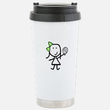 Girl & Volleyball Stainless Steel Travel Mug
