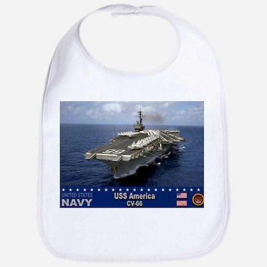 USS America CV-66 Bib