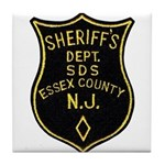 Essex County Sheriff Tile Coaster