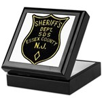 Essex County Sheriff Keepsake Box