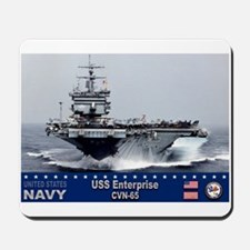 USS Enterprise CVN-65 Mousepad