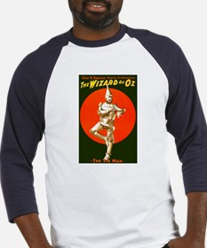 Vintage Wizard of Oz Tin Man Baseball Jersey