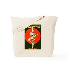 Vintage Wizard of Oz Tin Man Tote Bag