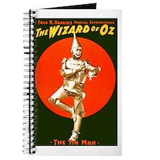 Vintage Wizard of Oz Tin Man Journal