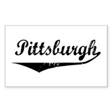 Pittsburgh Rectangle Decal