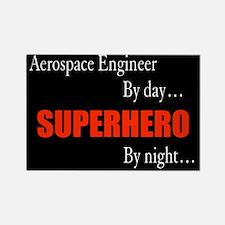 Superhero Aerospace Engineer Gift Rectangle Magnet