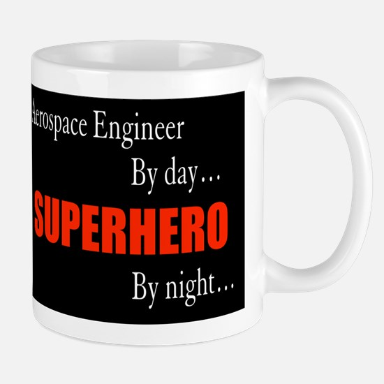 Superhero Aerospace Engineer Gift Mug