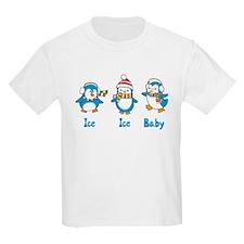 Ice Ice Baby Penguins T-Shirt
