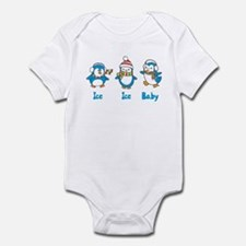 Ice Ice Baby Penguins Infant Bodysuit