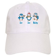 Ice Ice Baby Penguins Baseball Cap