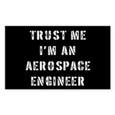 Aerospace Engineer Rectangle Decal