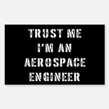 Aerospace Engineer Rectangle Decal