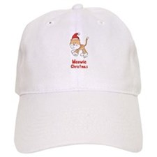 Christmas Kitty Baseball Cap