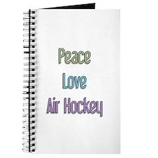 Air Hockey Gift Journal