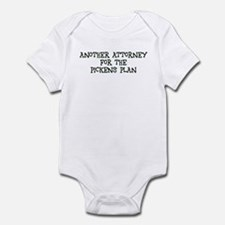 Another Attorney for the PP Infant Bodysuit