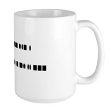 """I love ham radio"" Mug"