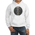 Aesculapius Staff Hooded Sweatshirt