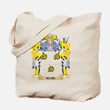 Kuhn Coat of Arms - Family Crest Tote Bag