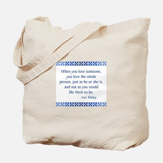Tolstoy Tote Bag