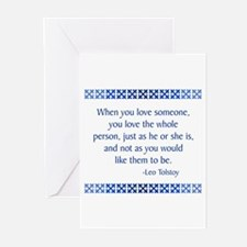 Tolstoy Greeting Cards (Pk of 10)