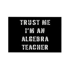 Algebra Teacher Gift Rectangle Magnet