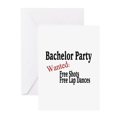 Bachelor Party Greeting Cards (Pk of 10)