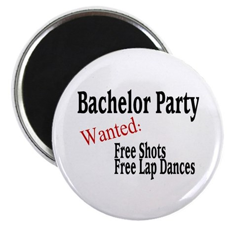 Bachelor Party Magnet