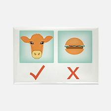 I'm Vegetarian! fridge magnet