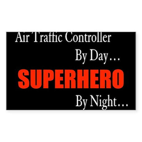 Air Traffic Controller Rectangle Sticker