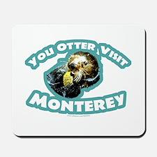 Monterey Otter Mousepad