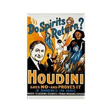 Houdini Spirits Rectangle Magnet