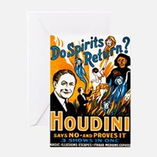Houdini Spirits Greeting Card