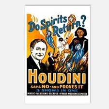 Houdini Spirits Postcards (Package of 8)