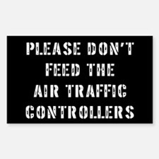 Air Traffic Controller Rectangle Decal