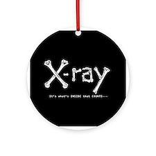 Cute Xray tech Ornament (Round)