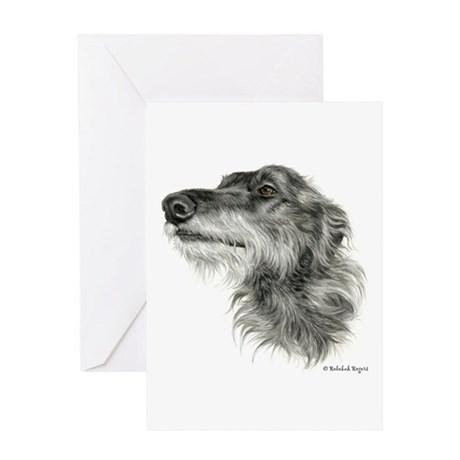 Scottish Deerhound Greeting Card