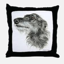 Scottish Deerhound Throw Pillow