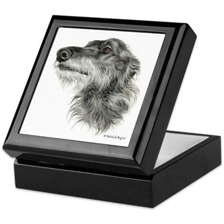Scottish Deerhound Keepsake Box