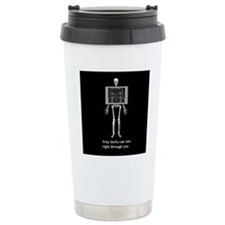 Cute Day of the dead skeleton Travel Mug
