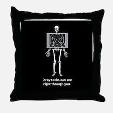 Unique Rad tech Throw Pillow