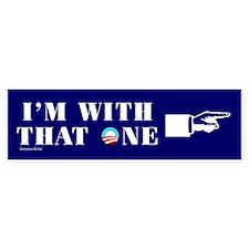 That One! Bumper Bumper Sticker