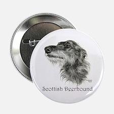 """Scottish Deerhound 2.25"""" Button"""