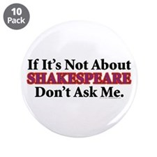 "Shakespeare 3.5"" Button (10 pack)"
