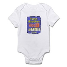 TWIN BROTHER FOR SALE T-SHIRT Infant Bodysuit