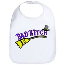 Bad Witch Bib