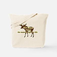 Save the Moose Tote Bag