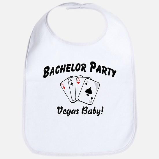 Vegas Bachelor Party Bib