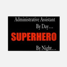 Superhero Administrative Assistant Gift Rectangle