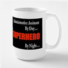 Superhero Administrative Assistant Gift Mug