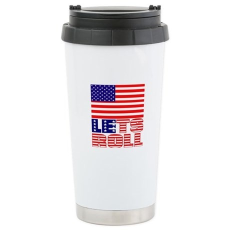 LETS ROLL Stainless Steel Travel Mug
